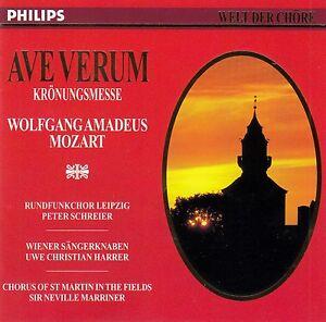 WELT-DER-CHORE-AVE-VERUM-WOLFGANG-AMADEUS-MOZART-CD