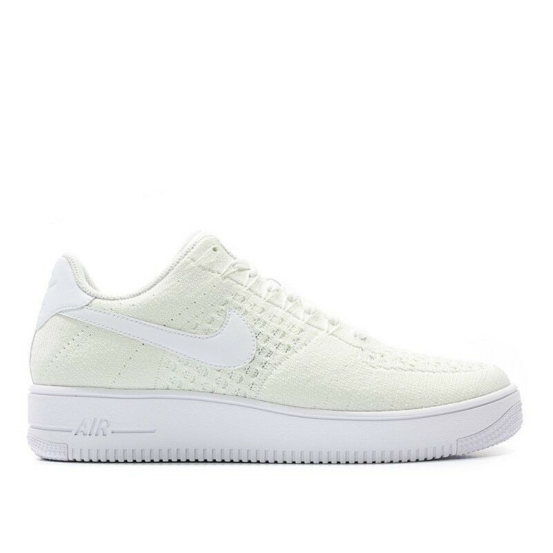 Nike Men Air Force 1 Ultra Flyknit Low Sneakers White 817419-101 US7-11 04'