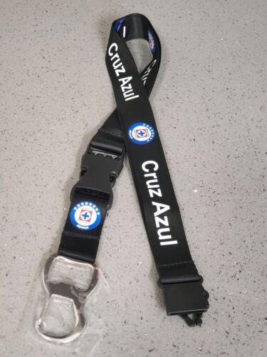 Cruz azul   opener Lanyard keychain Break-Away Safety Clip Nylon