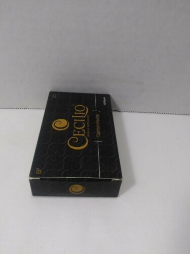 Cecilio Clarinet Reeds  10 Pack Bb # 2 1//2