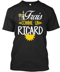 Frais Comme Un Ricard T-shirt Élégant (s-5xl) Approvisionnement Suffisant