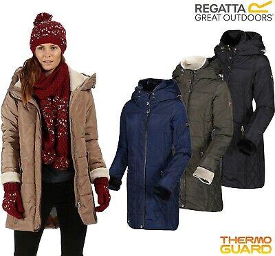 Regatta Ladies PERNELLA Insulated Padded Jacket Coat Womens