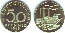 50 Pfennig 1949 a DDR