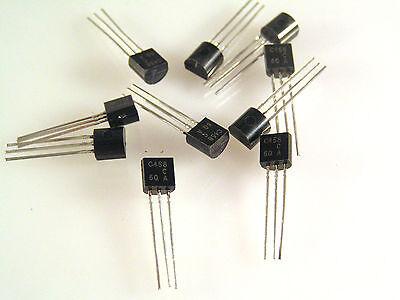 2sc458c HITACHI Transistor 5 PEZZI NUOVO