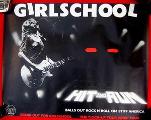 Girlschool Hit Run