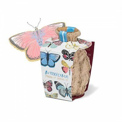 Butterflybom Seed Bomb Attract Butterflies Bees Pollinators To Your Garden GIFT