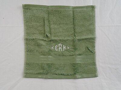 Lagoon  NWD #160M  VH58 1 Company Store Classic Cotton Washcloth