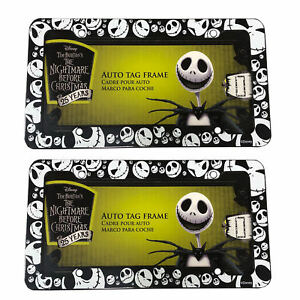 Disney Nightmare Before Christmas Jack Skellington Plastic Plate