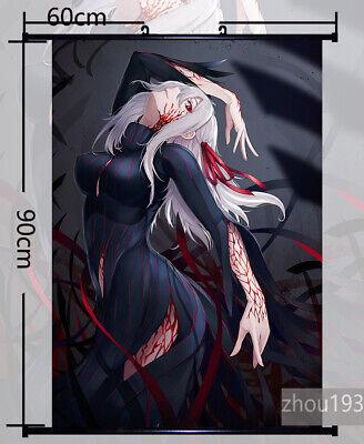 Fate//Stay Night Matou Sakura Wall Scroll Poster Art Home Decor Gift 60*90CM#H-4