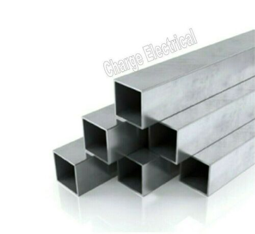 8 Inch Length Hollow Tube Aluminium Square box section 6082-T6 12 Sizes