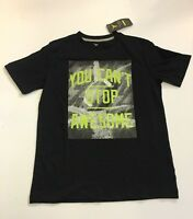 Old Navy Black Tee Shirt You Can't Stop Awesome Print