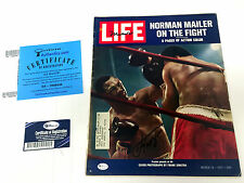 Muhammad ALI & Joe FRAZIER Signed LIFE Magazine with Online Authentics COA AFTAL