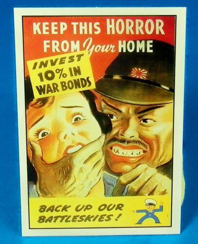 """BUY WAR BONDS KEEP THIS HORROR JAPAN World War II Reprint POSTER 12/"""" x 18/"""""""