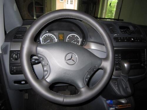 Lenkrad Lederlenkrad für Mercedes Viano Vito V-Klasse W638 W639 NEU BEZIEHEN