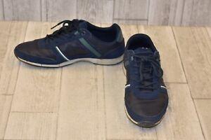 31cf579c4 Lacoste Menerva Sport 318 Sneaker-Men s Size 8.5 Navy Hunter Green ...