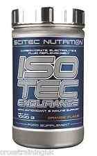 SCITEC NUTRITION ISOTEC ENDURANCE Carbohydrate & fluid replenishment formula