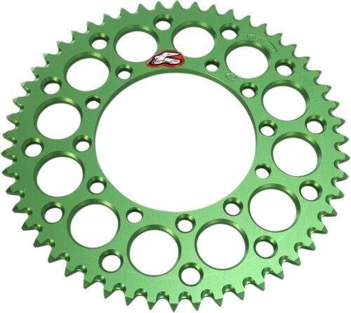 Renthal Green Kawasaki 52 tooth Aluminum Sprocket 191U-420-52GEGN 80-0235