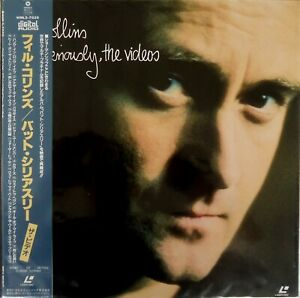 Phil-Collins-But-Seriously-The-Videos-Laserdisc-12-034-NTSC-Japan-WML5-7020