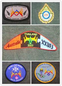 20th World Scout Jamboree 2003 Thailand WSJ Contingent /Unit Badge/ IST Patch #B