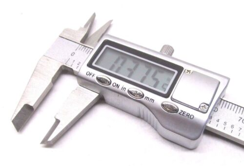 """0 to 4/"""" ELECTRONIC DIGITAL CALIPER EXPEDITED USA SHIPPING! .001/""""//.01mm NEW"""