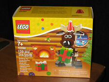 NEW Holiday REINDEER LEGO # 40092 present +  REINDEER 139 pcs SAME DAY SHIPPING