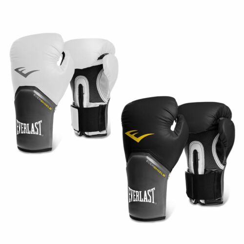 Everlast Elite Training Evershield Boxing Gloves Gym Fitness Bag Sparring Gloves