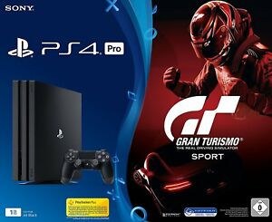 SONY-PlayStation-4-Pro-1TB-CUH-7116B-Controller-Gran-Turismo-Sport-B-Ware