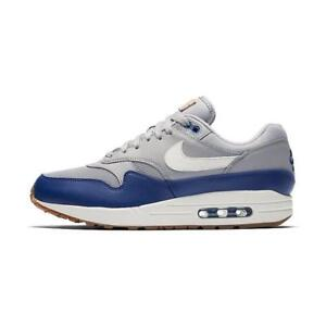 new concept a3526 90fae Image is loading Nike-Air-Max-1-Atmosphere-Grey-Deep-Royal-