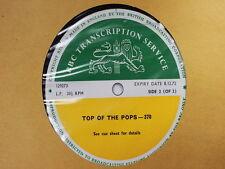 BBC 370 Pink Floyd Cilla Black Rory Gallagher Fresh Maggots Transcription Disc