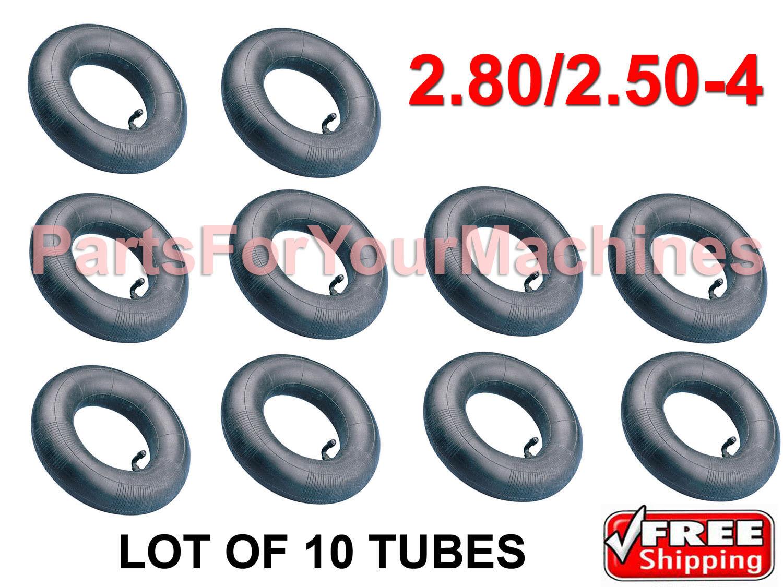2 HEAVY DUTY INNER TUBES 2.80//2.50-4 250-4 2.80X2.50-4 TR87 90 VALVE STEM,NEW