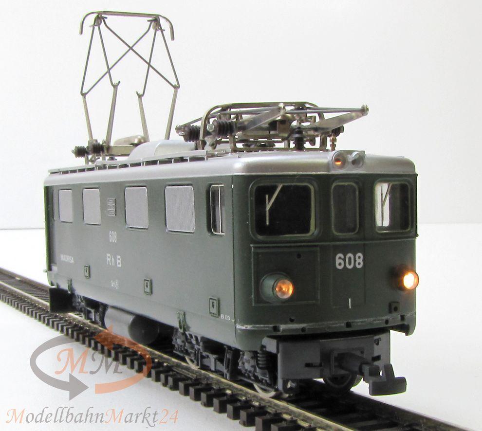 BEMO 1250 128 RHB Elektrolok GE 4 4 madrisa verde Ep III carreggiata stretta h0m h0e eovp