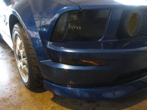 05FM/_F 05-09 Mustang GT Head Lights//Front Markers//Fogs Lights Front Tint Kit