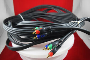 10m-HDTV-RCA-Component-Video-YPbPr-Cable-With-2-x-Nvidia-BFG-Tech-7-Pin-Adapters