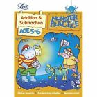 Addition and Subtraction Age 5-6 by Letts Monster Practice, Alison Oliver (Paperback, 2013)