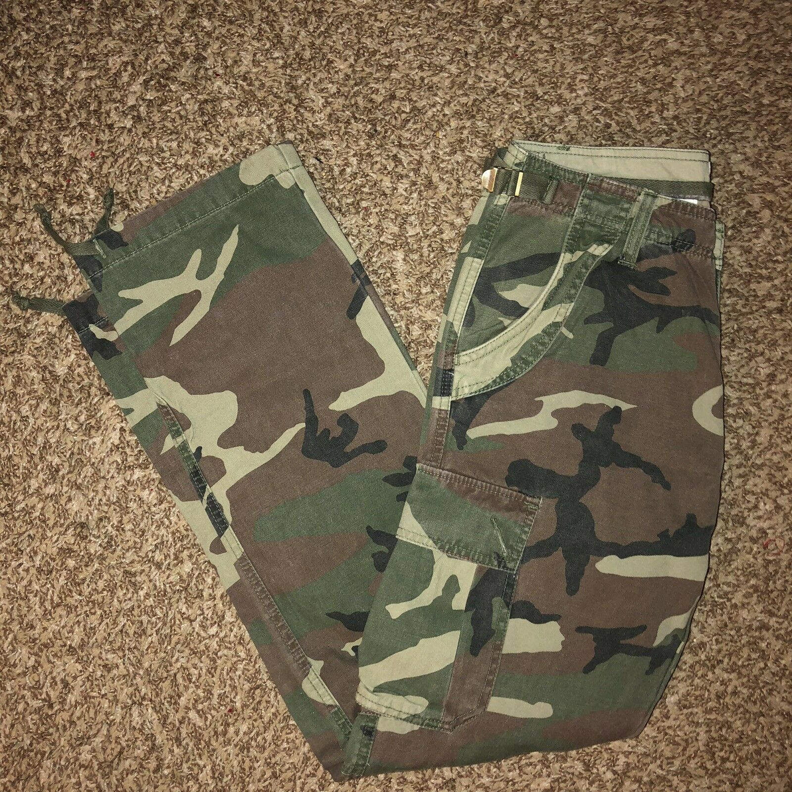 Army Fatigue Pants Size 31 Mens
