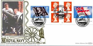 2001 Flags NVI Booklet - Benham Gold (500) Official - TIED
