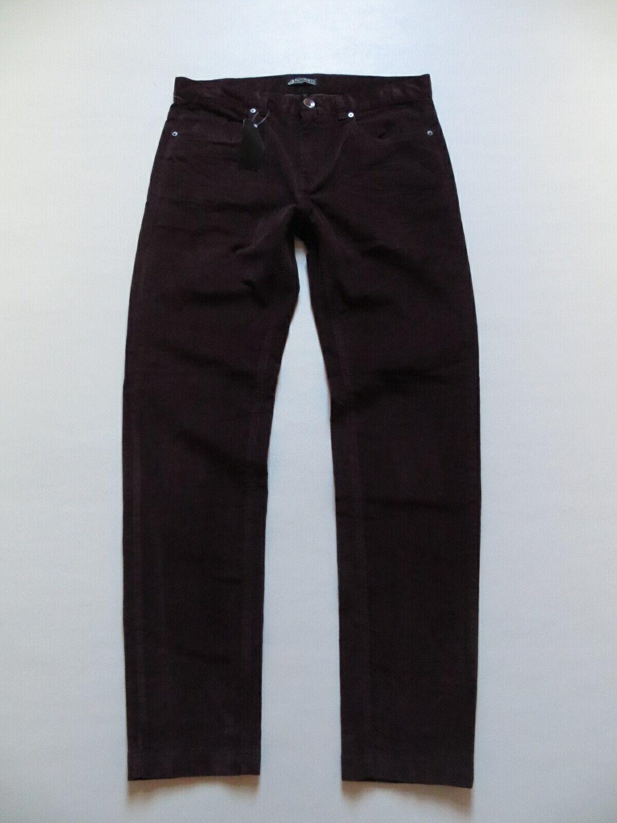 Cord Jeans Hose, W 38  L 33, aubergine, NEU   bequeme Stretch Cordhose   Gr. 54