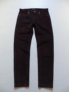 Cord-Jeans-Hose-W-33-L-33-aubergine-NEU-bequeme-Stretch-Cordhose-Gr-48