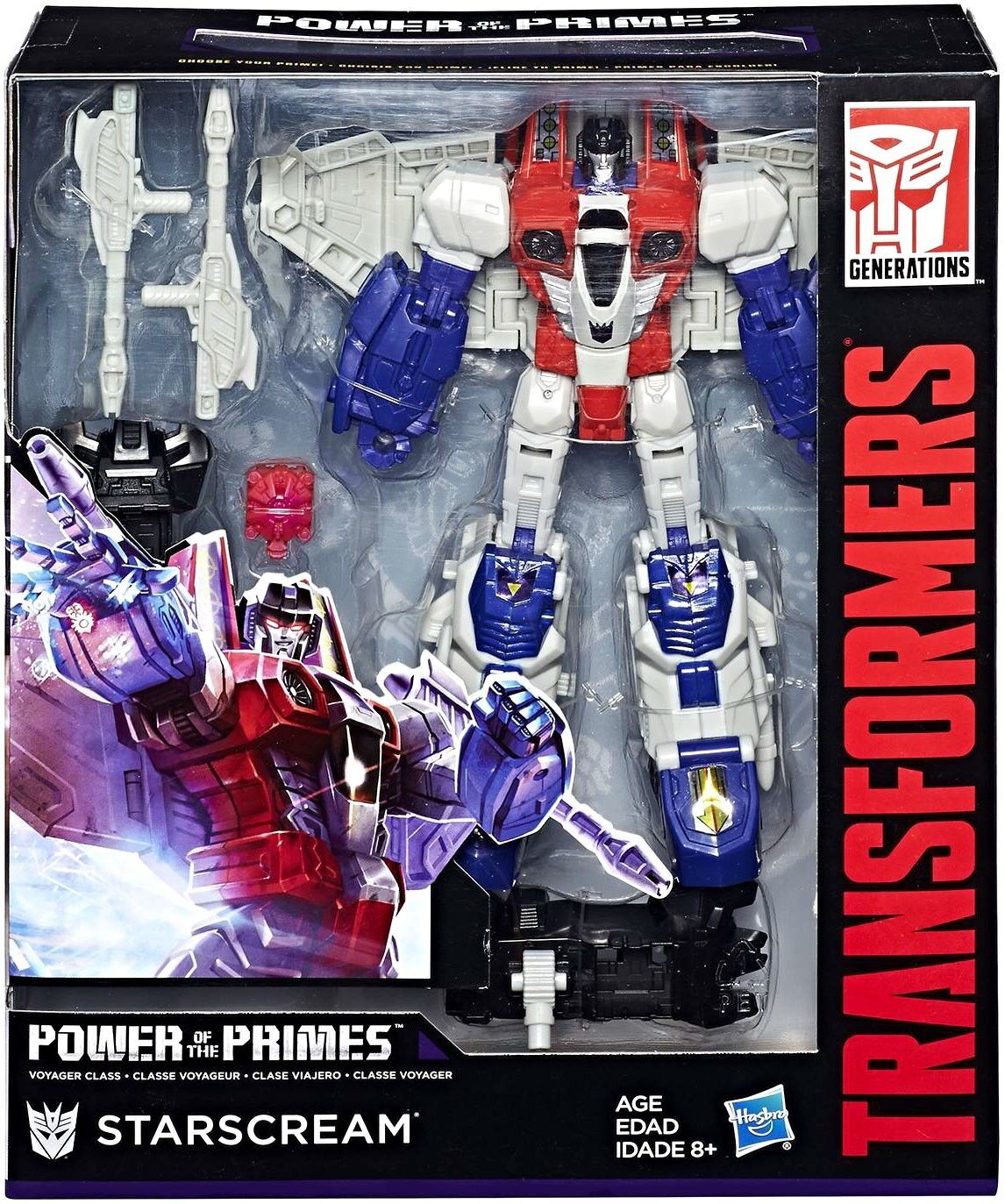 Transformers Generations Power of the Primes Starscream Voyager Action Figure