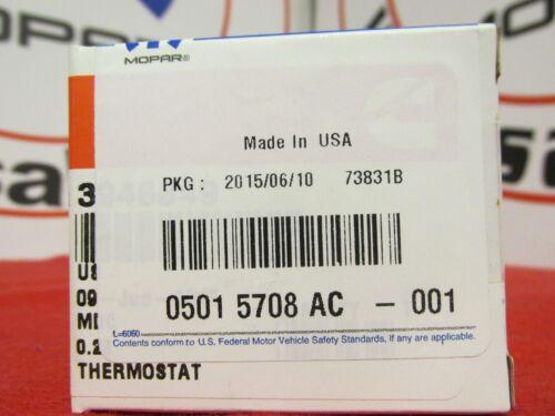 Dodge Ram 2500 /& 3500 Diesel Engine Thermostat NEW OEM MOPAR