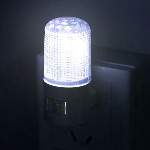 LED Plug-in Night Light Wall Night Lamp Brightness Bedroom Wall Socket Lamp Hot