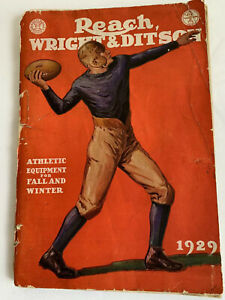 Reach-Wright-amp-Ditson-Antique-Rare-1929-Athletic-Equipment-Catalogue-Fall-amp-Wint