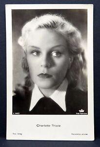 Charlotte-Thiele-Ak-Photo-Autogramm-Karte-Photo-Postcard-G-3182