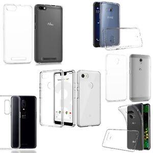 Handy-Huelle-Silikon-Schutz-Case-TPU-fuer-WIKO-LG-ZTE-GOOGLE-HTC-ONEPLUS