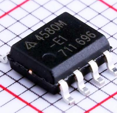 50 PCS AZ4580M SOP-8 AZ4580 4580M 4580 SMD-8 NJM4580 AMPLIFIERS New