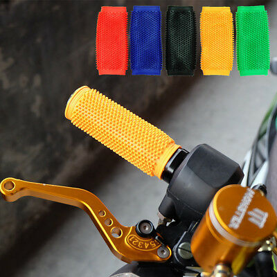 2x 30mm Soft Rubber Bike Bicycle MTB Handle Bar Hand Grips Dirt Pit Cycle