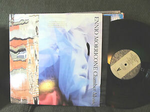 ENNIO MORRICONE Chamber Music LP NM USA 1988 orig PROMO Venture Records rare!