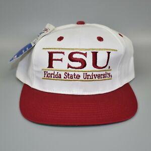 FSU-Florida-State-Seminoles-NCAA-Vintage-90-039-s-The-Game-Snapback-Cap-Hat