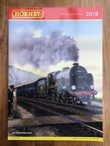 2018-A4-R8155-HORNBY-Model-Railway-colour-catalogue-Edition-Sixty-Four-154-pages