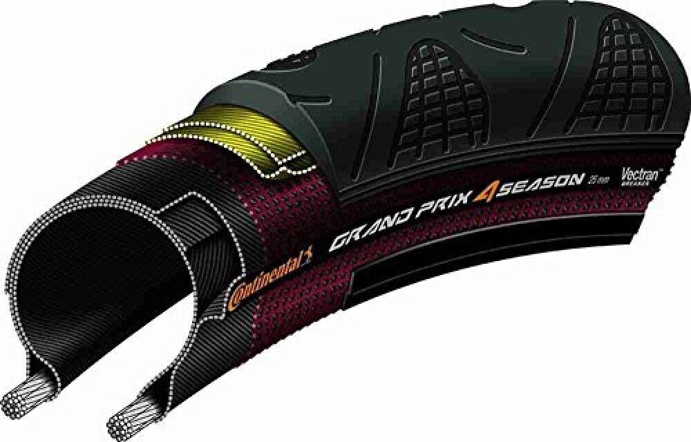 Continental Grand Prix temporada 4 Carretera Neumáticos De Bicicleta Cubierta 700×28C